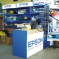 Epson:Product display cabinet